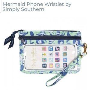 Simply southern phone wristlet